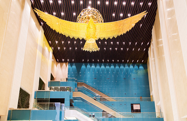 «Golden hall» in the National Museum of the Republic of Kazakhstan